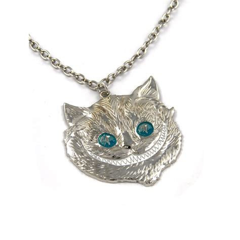 in cheshire cat necklace by loungefly