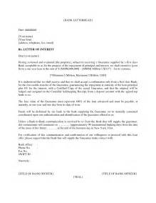 professional letter of interest template microsoft word