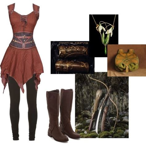 warrior boats clothing elven archer by nesahak on polyvore featuring moda elfin