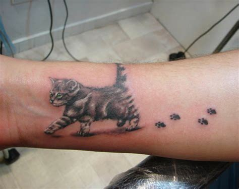 cat foot tattoo designs inspirational showcase of cat designs collection