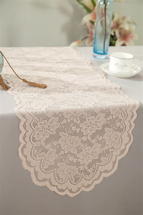 blush pink table runner blush pink lace table runners wedding