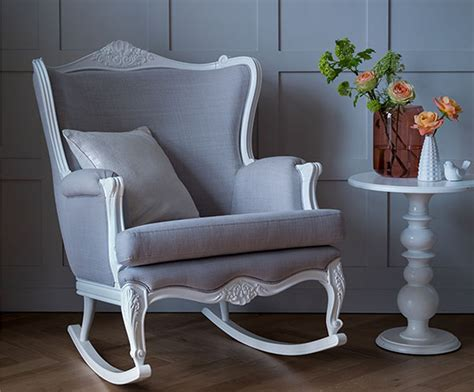 rocking armchair nursery bambizi luxury nursing chairs luxury rocking chairs