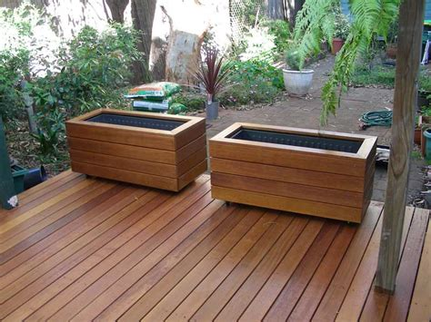 Building A Planter Box For A Deck by Gallery