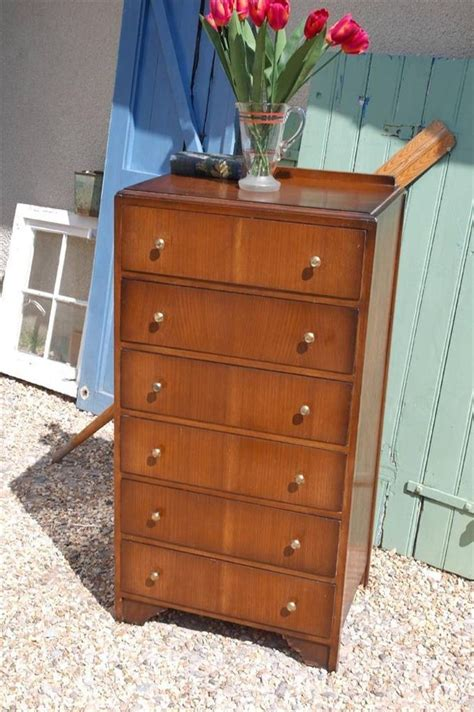 antique tall boy dresser vintage 1950 s tall boy chest of drawers 1940 s utility