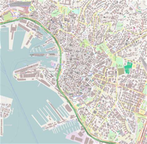 mappa porto di genova centro storico di genova
