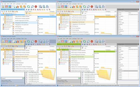 best mailing list software mailing list studio 4 21