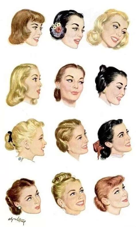 hairstyles for in late 50 s 1950s hairstyles 1950 pinterest updo pony tails and