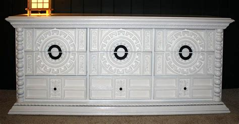 white lacquer caign dresser cabinetry finishing artistic finishes within white lacquer