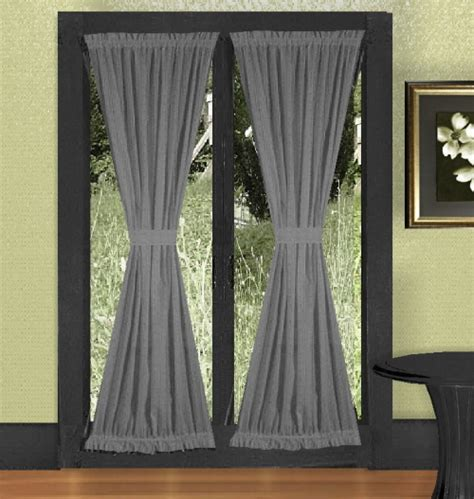 french doors curtains medium gray french door curtains