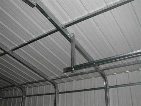 steel garage kit examples   people built