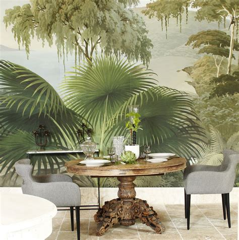 Tapisserie Panoramique by Papier Peint Panoramique Ananb 244 гостиная тропический