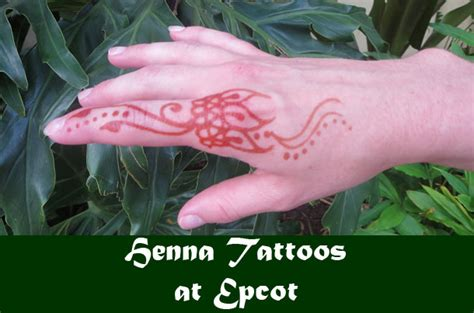 henna tattoos at epcot henna in epcot disney momma