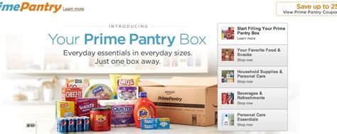 Prime Pantry by With Prime Pantry Will Ship The Convenience Store