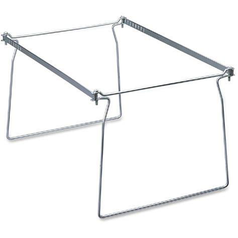 hanging file frames for file cabinets smead steel hanging file folder frame letter size gray 2 per pack 64870 smd64870