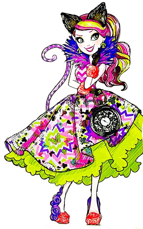 imagenes de kitty ever after high imagen kitty cheshire rumbo al pa 237 s de las maravillas
