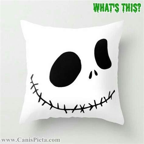 Skellington Pillow by O Connell