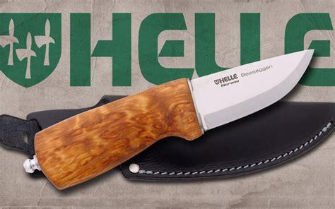 helle besseggen review one helle of a knife the helle besseggen knife newsroom