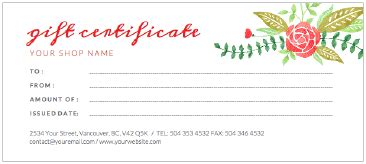 store gift certificate template photoshoot gift certificate template best and