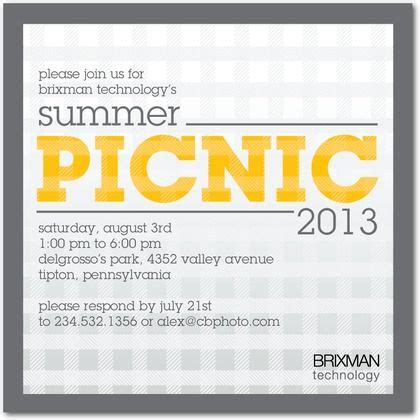 corporate event invitation template announce your next corporate picnic with these cute event