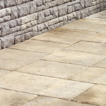 Patio Stones Rona Create A Paved Area With Concrete Pavers Or Slabs 1 Rona