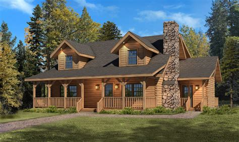 mountain view home plans september super savigs mountain view i log home package
