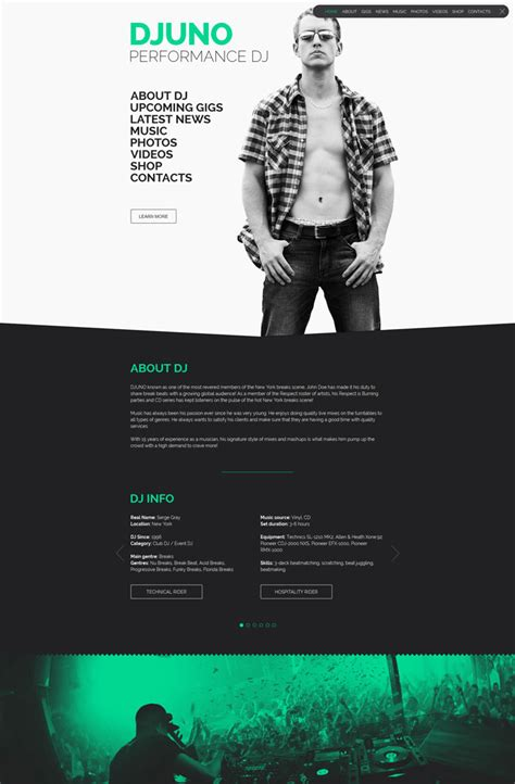 paximo parallax portfolio muse template personal introduction