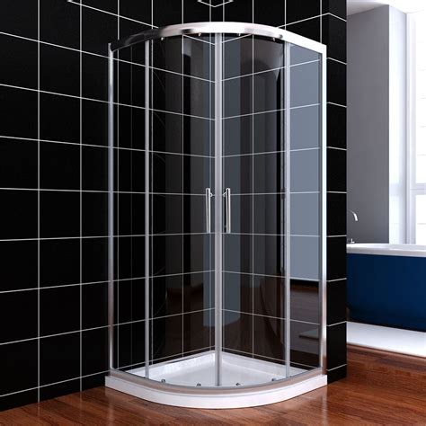 Quadrant Shower Door Seals Shower Enclosure Walk In Pivot Bifold Quadrant Sliding Door Seal Waste Trap Ebay