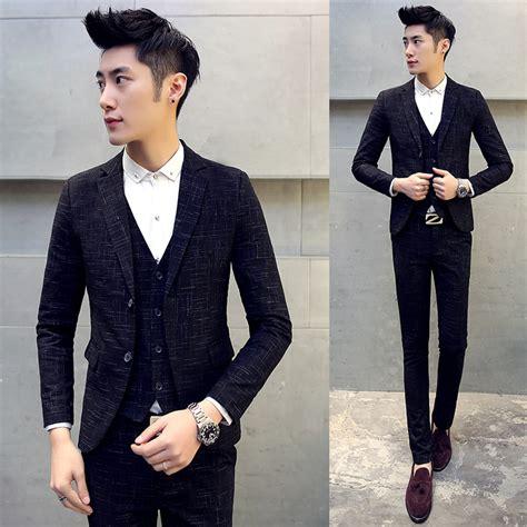 Exclusive Dijual Korean Style Stripe Ks 39 Blue Ks 40 Murah Mu Korean Tuxedo Promotion Shop For Promotional Korean Tuxedo