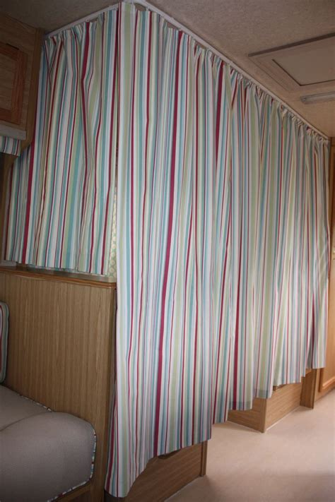 cervan bedding and curtains caravan bunk beds surrounded by curtains for the home
