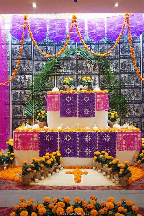 imagenes de como decorar un altar de muertos decoraci 243 n para el d 237 a de muertos 2016 casa haus decoraci 243 n