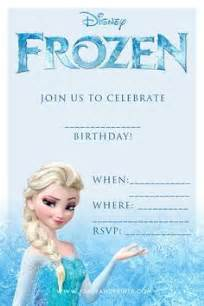 frozen birthday card template 25 best ideas about free frozen invitations on
