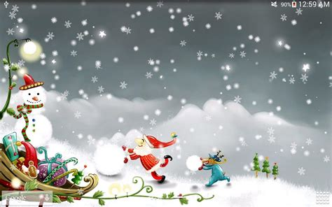 great xmas snow wallpaper pics snow live wallpaper android apps on play