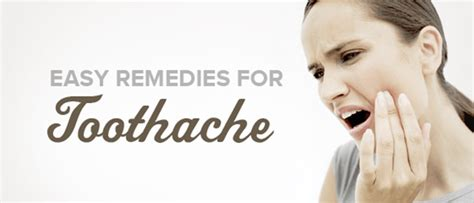 home remedies for toothache health and fitness