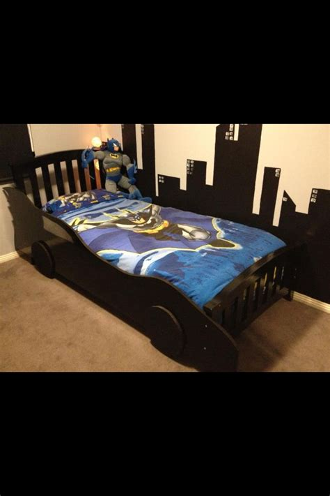 batmobile toddler bed diy batmobile car bed use a jigsaw to cut the batmobile