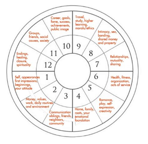 first house astrology the 12 houses of the horoscope wheel