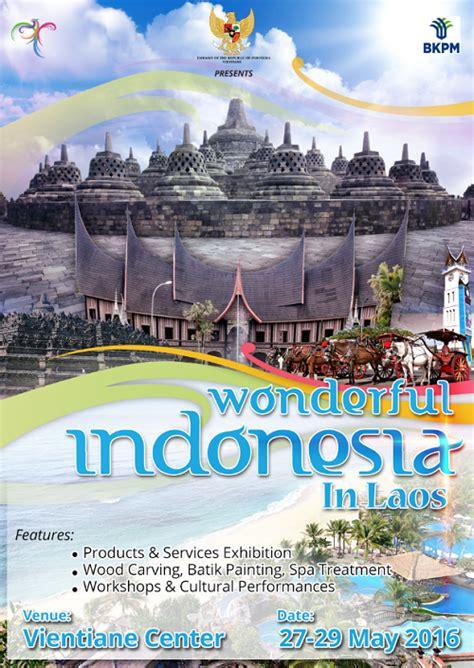 design wonderfull indonesia quot wonderful indonesia in laos quot