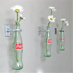 2 coca cola bottle hanging flower vases s day gift