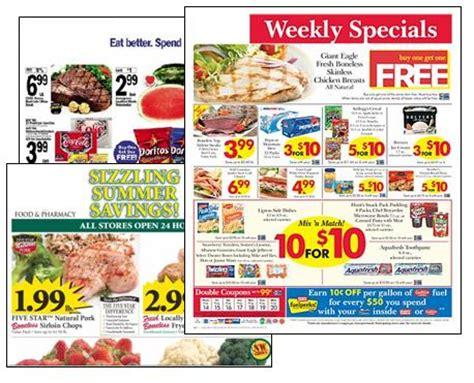 saving money  coupons    read  grocery circular moms