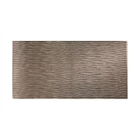 Decorative Wall Panels Home Depot with Fasade 96 In X 48 In Dunes Horizontal Decorative Wall Panel In Brushed Nickel S71 29 The