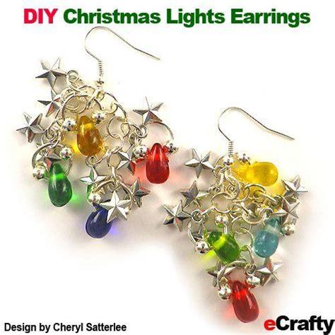 light up christmas earrings 173 best diy holiday earrings images on pinterest