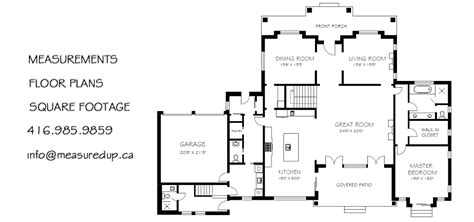 floor plan with measurements floor plan measurements gurus floor