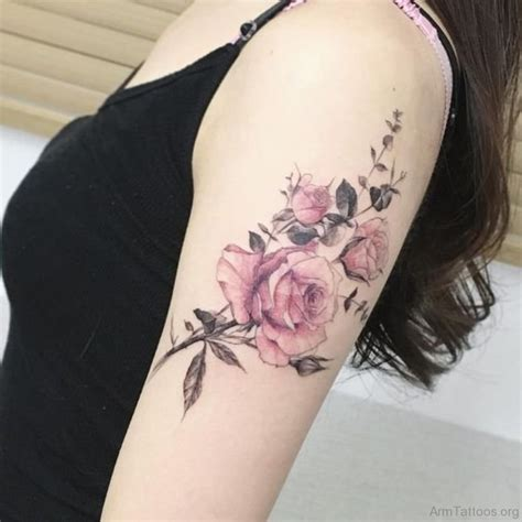 roses on arm tattoos 75 lovely on arm