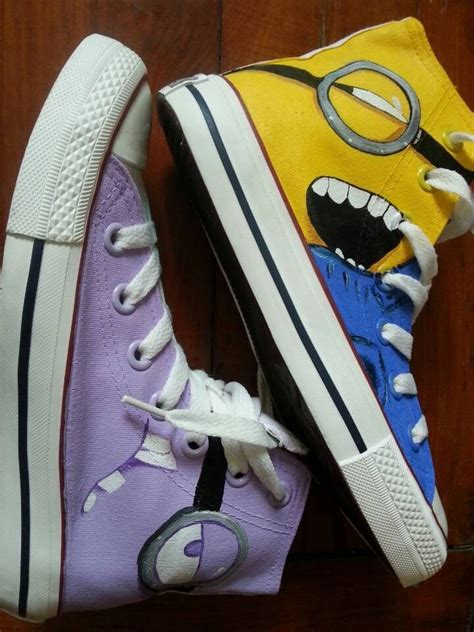 diy minion shoes 10 best images about minion vans on high tops
