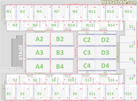 wembley stadium seating plan detailed layout mapaplan com xday sse wembley arena report 04 mars 2017 page 9