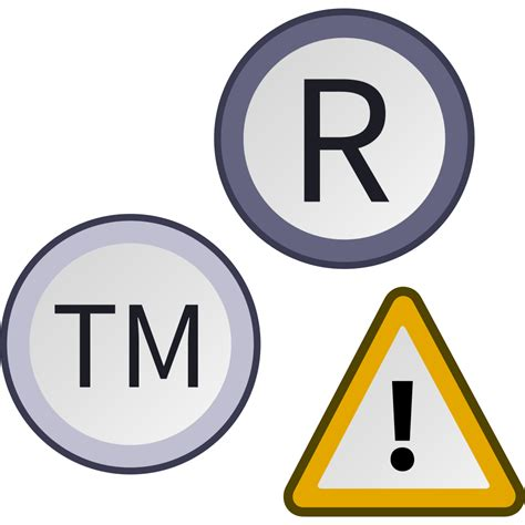 trade symbol file trademark warning symbol svg wikibooks open books