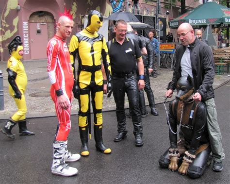 rubber st conventions photos berlin s community takes to the streets for