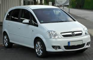 Opel Minerva File Opel Meriva A 1 8 Cosmo Facelift Front 20100716 Jpg
