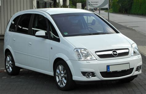 opel cosmo datei opel meriva a 1 8 cosmo facelift front 20100716 jpg