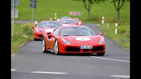 Ferrari Treffen by Ferrari Crash Bei Esperanto Ferrari Treffen In Fulda Youtube
