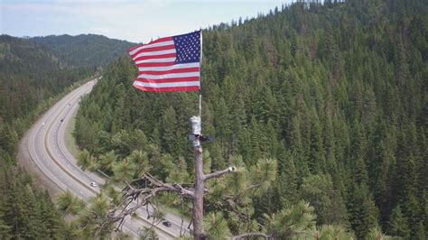 mysterious american flag shows      july
